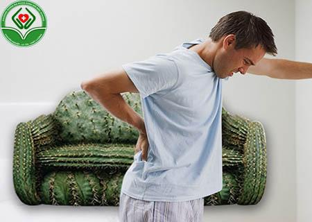Nguyên nhân khiến búi trĩ bị sưng đau