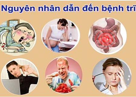 Có nhiều nguyên nhân khiến người bệnh bị trĩ chảy máu